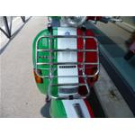 CHROMED FRONT LUGGAGE CHROME VESPA PX-PK - LARGE FRAME