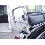 REAR LUGGAGE CARRIER VESPA SMALL FRAME - 50 90 125 et3 125 PRIMAVERA