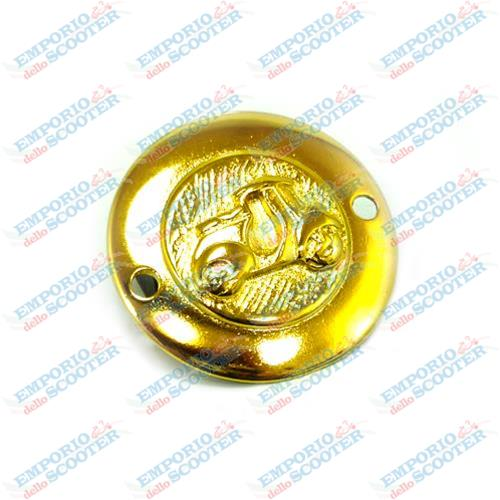 "GOLDEN GEM WITH VESPA ""FARO BASSO"" DECOR"
