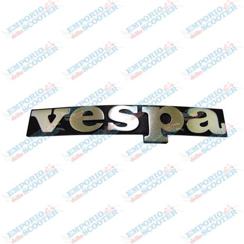 EMBLEM -VESPA- ON FRONT SHIELD  VESPA PK