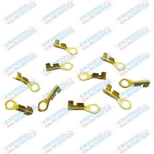 KIT 10pc EYELET FASTON 3MM FOR WIRING HARNESS VESPA