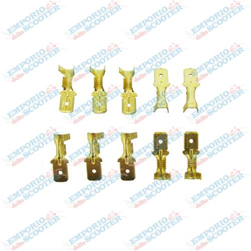 PLUG SET KIT 10PC FOR WIRING HARNESS VESPA