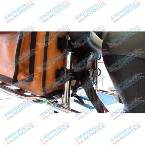 BOXY - SOFT TOPBOX FOR FRONT OR REAR RACK VESPA SEVERAL MODELS - 20 LIT