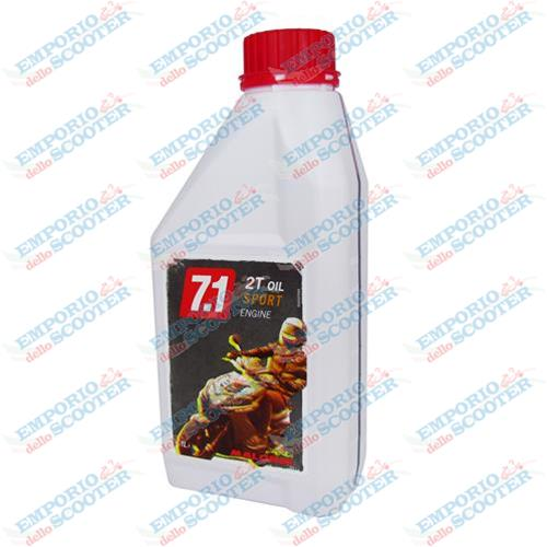 "HUILE ""MALOSSI 7.3"" 2T SPORT Engine OIL 1L"